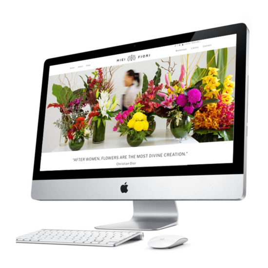 Miei-Fiori-Small-Business-Website-Design-Services-Confetti-Design