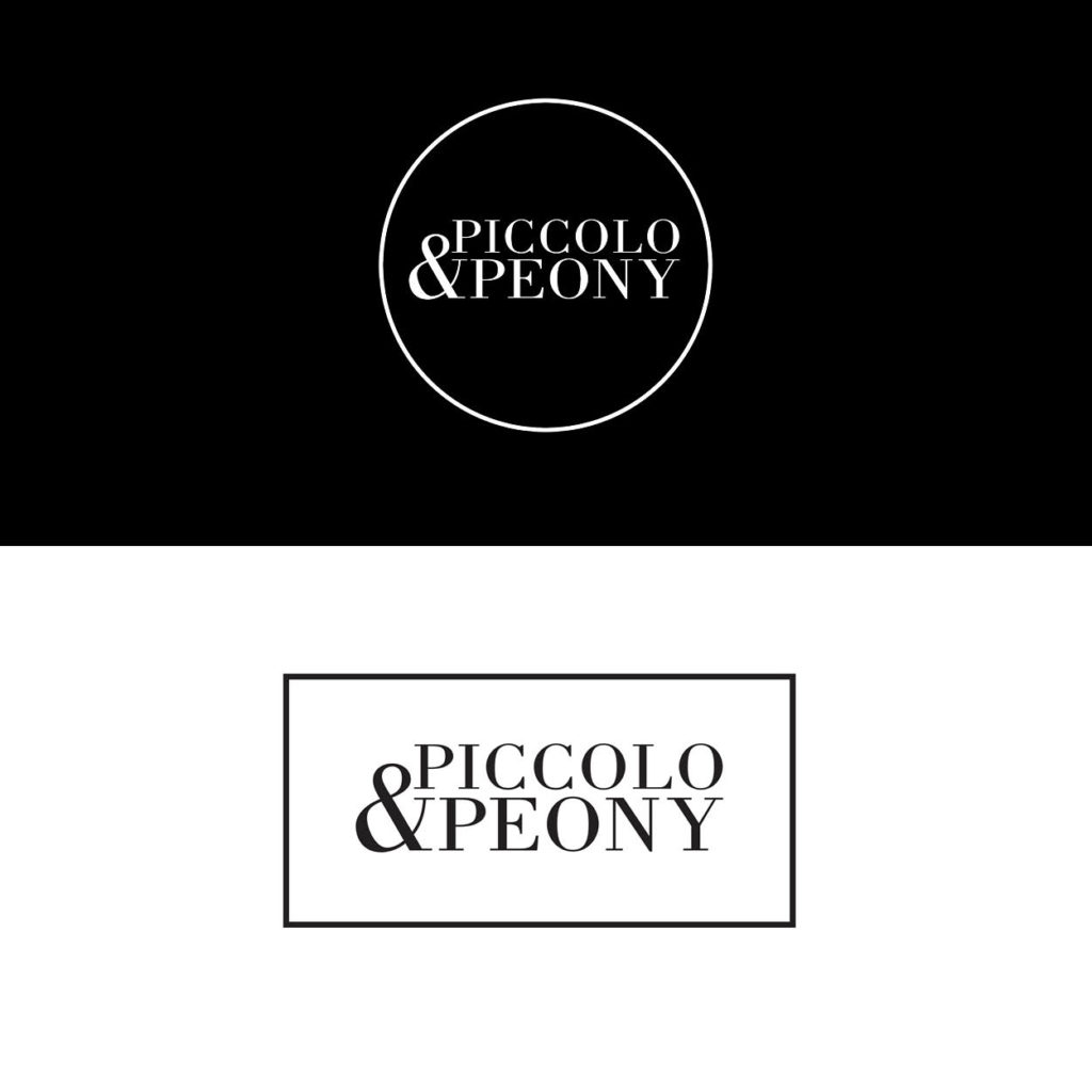 confetti design our branding portfolio piccolo and peony