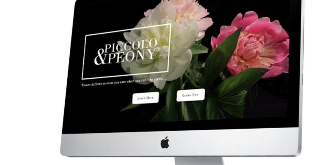 Piccolo and Peony evan architecture Small Business Website Design Services Confetti Design