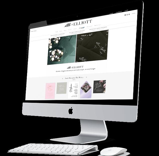 confetti design small business web design portfolio state of elliott
