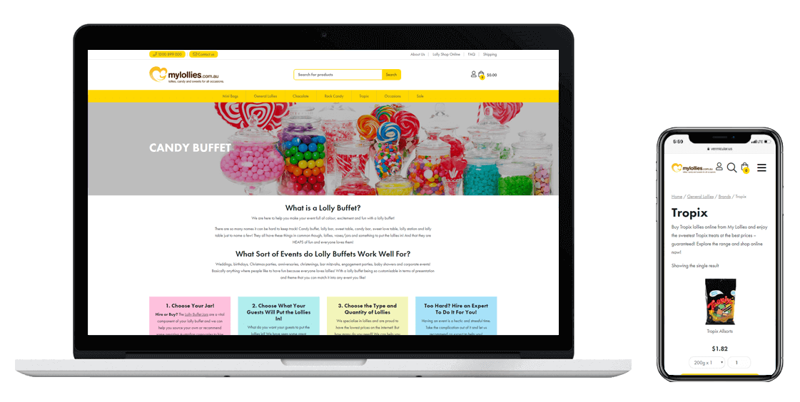 My-Lollies-Confetti-Design-Melbourne-website-design-agency