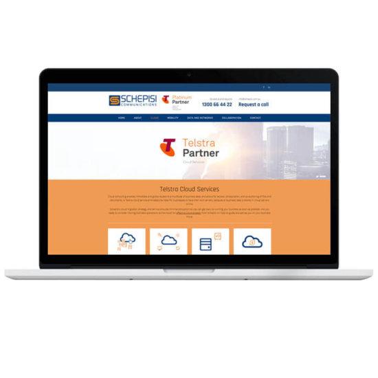 confetti design small business web design portfolio schepisi
