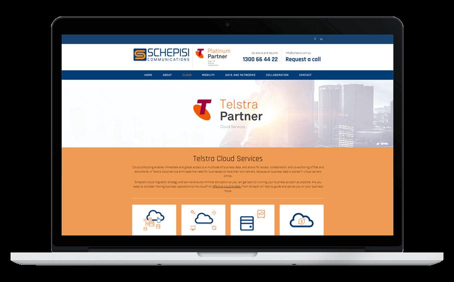 Schepisi-Confetti-Design-Melbourne-website-design-agency-laptop-view