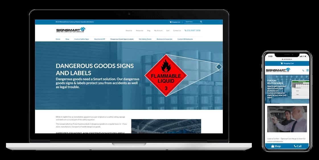 Signsmart-Confetti-Design-Melbourne-website-design-agency-computer