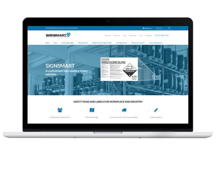 confetti design small business web design portfolio signsmart
