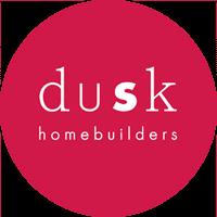 confetti design dusk home builders logo