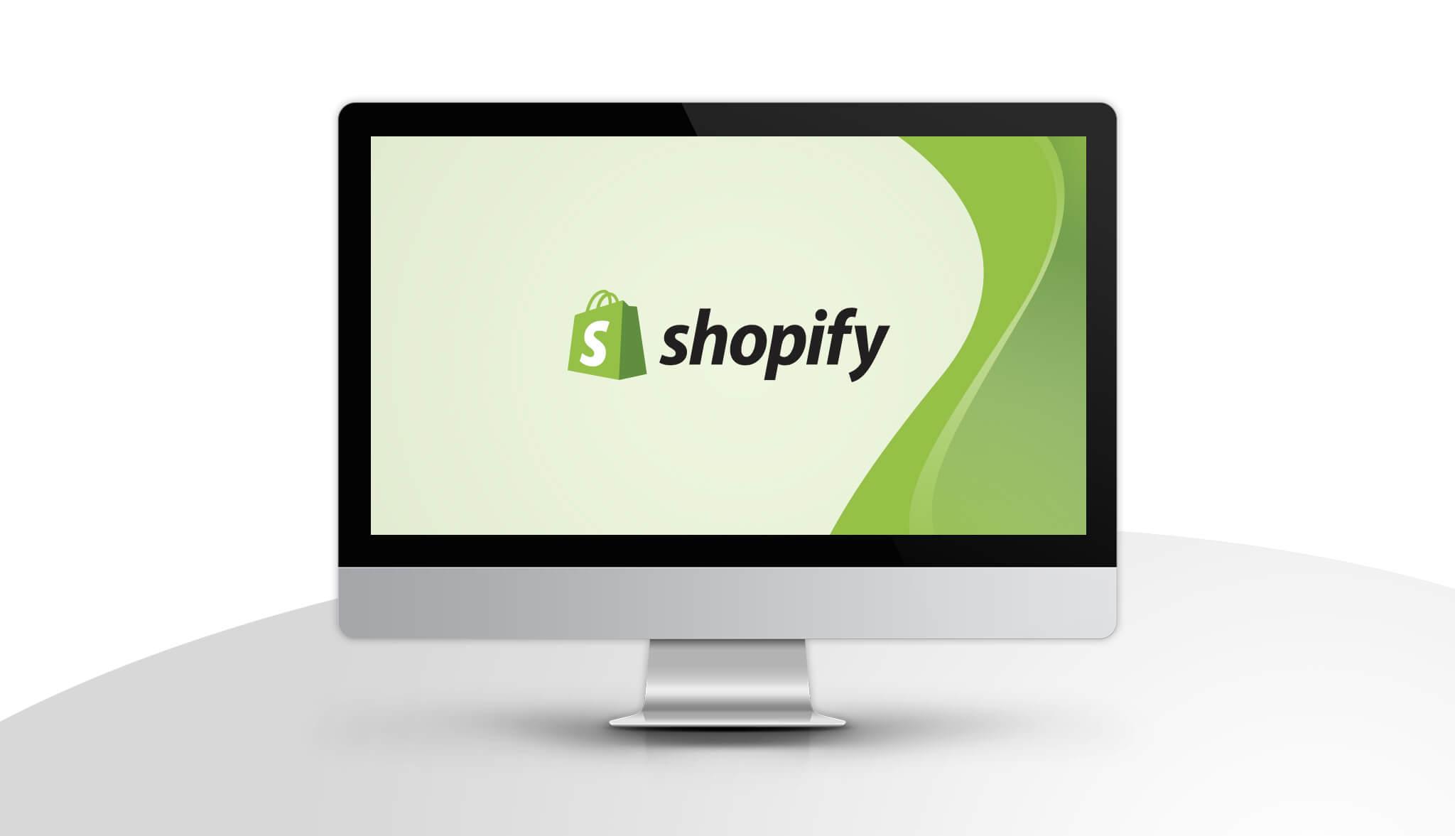 confetti design shopify computer