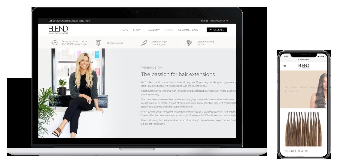 eCommerce website designer Melbourne