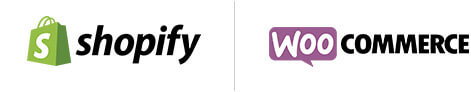 eCommerce website Shopify vs WooCommerce