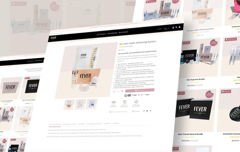eCommerce website online store business